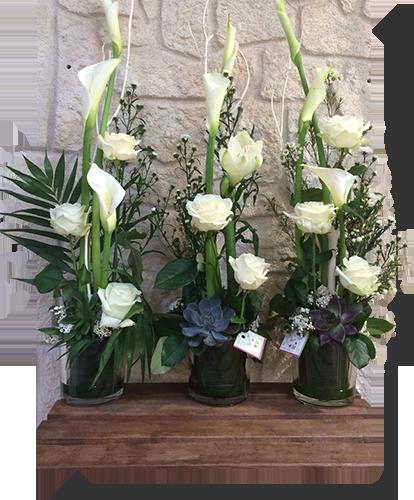 Décoration florale par Arum'Anis, fleuriste à Revel (31)